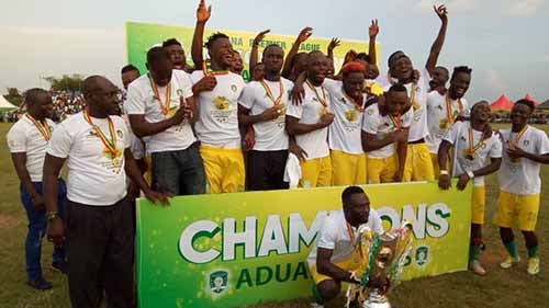 Aduana Stars formally Crowned 2016/2017 Ghana Premier League Champions