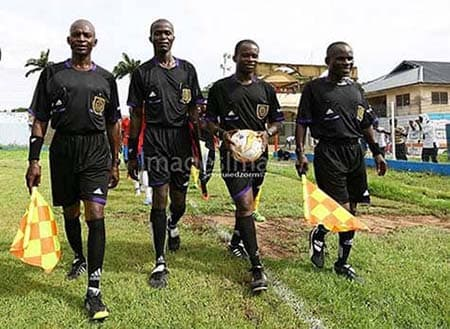 These referees, together with their colleagues are expected to hold their executives accountable