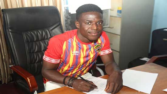 Accra Hearts of Oak sign teenage star Isaac Mensah. Image credit - goal