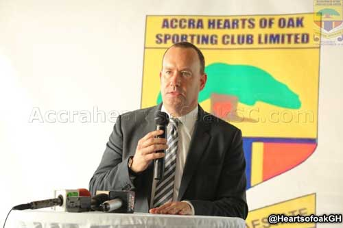 CEO of Accra Hearts of Oak SC., Mark D. Noonan