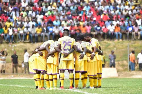GPL Week 13 Preview: Dreams FC eye Premier League summit as Medeama SC, AshGold test their luck on the road and Kotoko take on Elmina Sharks. File image - Medeama SC
