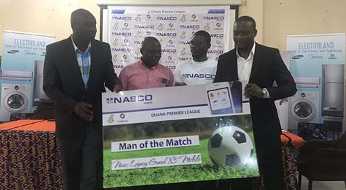 GFA, NASCO announce partnership agreement for Premier League