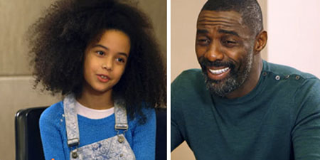 Idris Elba Cracks Up While Getting Dating Advice From Kids