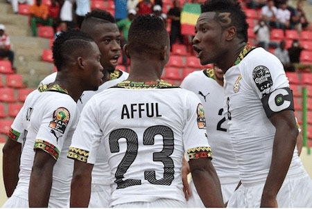 Black Stars maintains 41st position in Latest standing