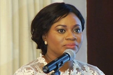 File: Charlotte Osei, chairperson of the Electoral Commission of Ghana