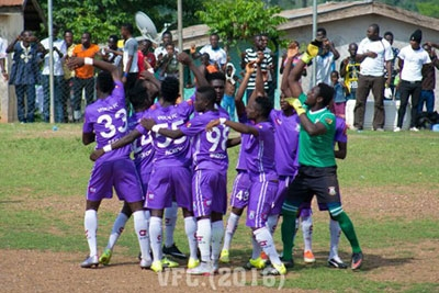 Okyeman Planners take over summit, Vision FC defeat Gt. Olympics and relegation woes continue to pile up for Roberto FC
