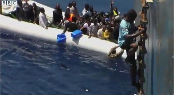 People Traffickers Make Billions in Mediterranean