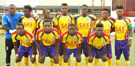 File image - Accra Hearts of Oak on Sunday edged Tema based Inter Allies by a 3-2 scoreline in a their thrilling match day 5 encounter at the Tema Sports Stadium.
