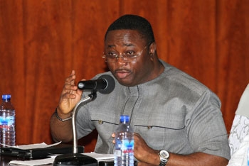 Library image - Former Minister of Youth and Sports, Elvis Afriyie Ankrah