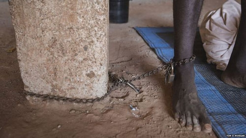 Ghana: The country where disabled people are beaten and chained