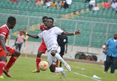File image - Inter Allies, Aduana to test Kotoko and Hearts, Wa All Stars poised for victory over AshGold