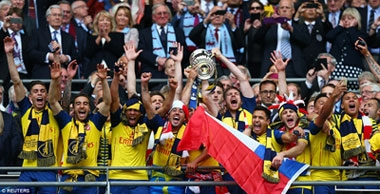 Dominant Gunners seal record FA Cup victory with 4-0 rout of Aston Villa