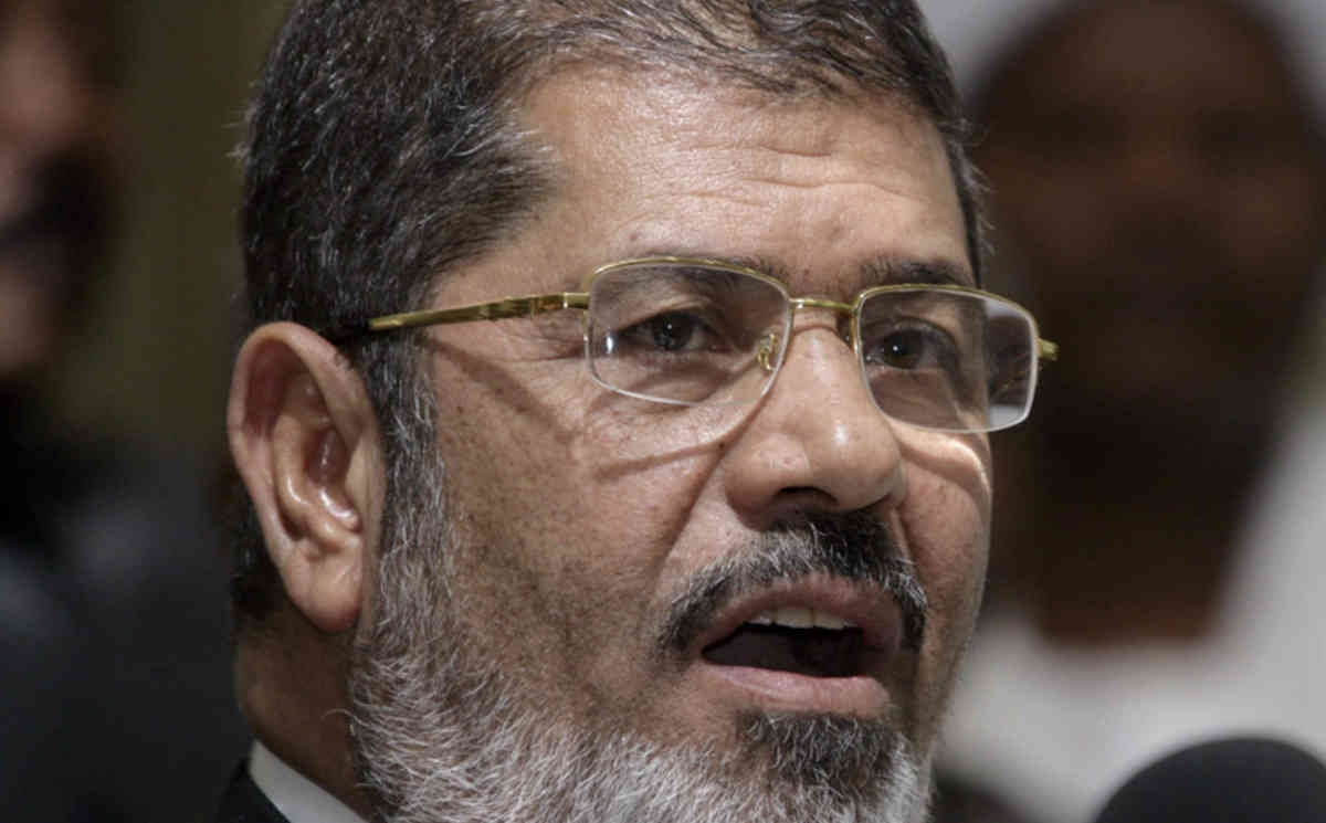 Egypt sentences Mohamed Morsi to death