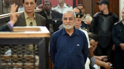 Egypt confirms death sentence for Muslim Brotherhood leader