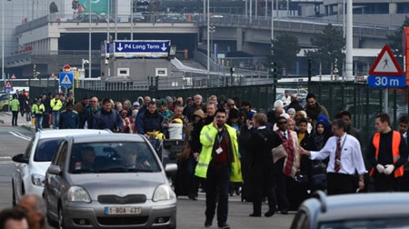 Chaos reigns after Brussels airport explosions