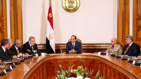Egypt's cabinet quits; ex-oil minister asked to form gov't