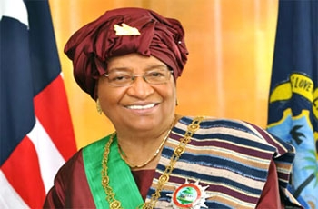 File photo: Liberian President Ellen Johnson-Sirleaf.