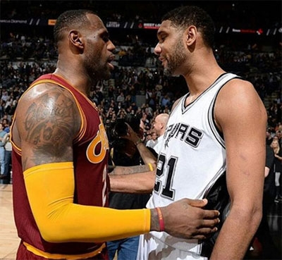 LeBron James Calls Tim Duncan Greatest Power Forward Ever