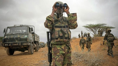 The Kenyan air force carried out air strikes on al Shabaab camps in Somalia on Sunday and Monday, an army spokesperson said