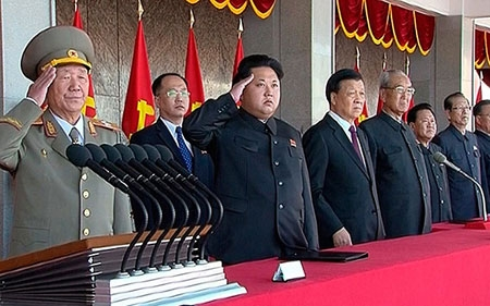 North Korea Flexes Military Muscle, Ready to Defend Against US