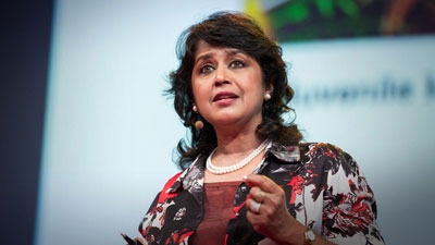 Ameenah Gurib-Fakim was just sworn in as the first female president of Mauritius. A TEDGlobal 2014 speaker, she shares the unusual way this happened and what she plans to do while in office.