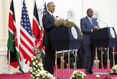Obama challenges Kenya on gay rights, warns of dangers of treating people differently