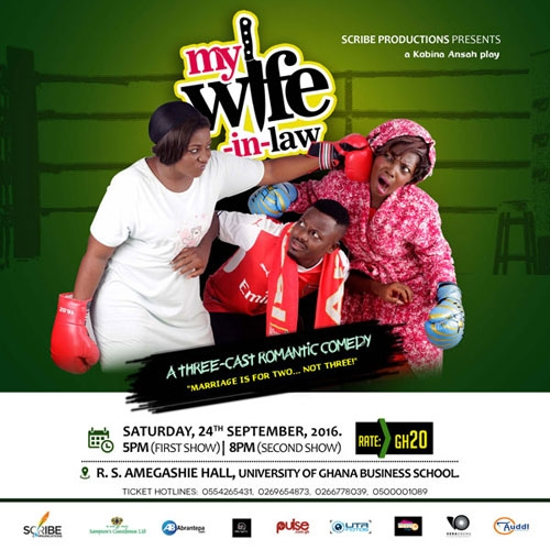 'MY WIFE-IN-LAW' HITS ACCRA ON SEPTEMBER 24