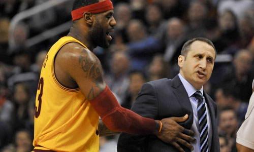 First Place Is Not Good Enough: LeBron's Cavs Fire David Blatt