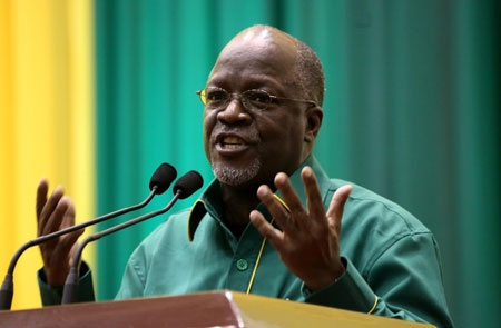 John Magufuli won on a promise to tackle corruption and unemployment
