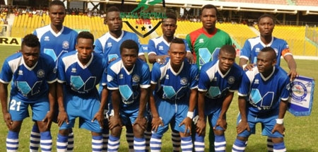 File image - Accra Great Olympics bent on returning to PL division next season