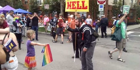 Zea, The Ohio Girl Who Stood Up To A Homophobic Preacher, Is Everyone's New Hero