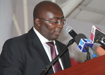 Dr. Mahamudu Bawumia: Vice Presidential candidate for the New Patriotic Party Presidential candidate Nana Akufo-Addo in 2012 and 2016