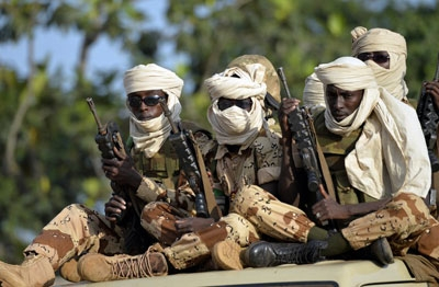 File image: Chadian soldiers engaged in the fight against Boko Haram