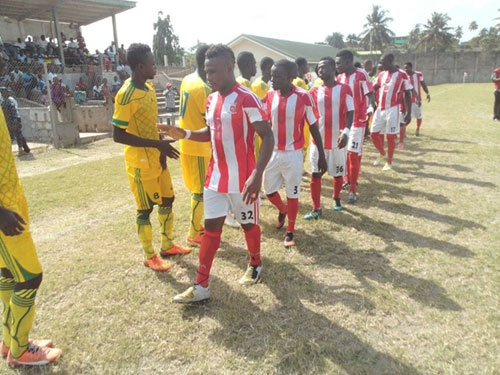 Mighty Royals, R.T.U eye top spot, Gold Stars, Eleven Wise to keep pressure on Elmina Sharks Okwawu Utd. aim to keep top spot with win over lowly King Solomon FC