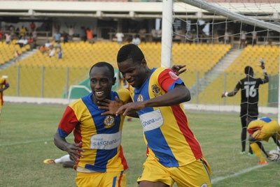 CAF Confederation Cup: 10 man Hearts shock Djoliba AC in Bamako
