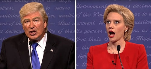 'Saturday Night Live' Opens With Alec Baldwin and Kate McKinnon Playing Trump and Hillary Clinton