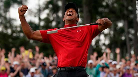 Tiger Woods' 11-year major drought is over: His fifth Masters green jacket seals one of sport's greatest comeback stories