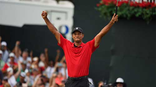 Hear Him Roar! Tiger Woods wins Tour Championship, ends 5-year drought. Image credit - pga