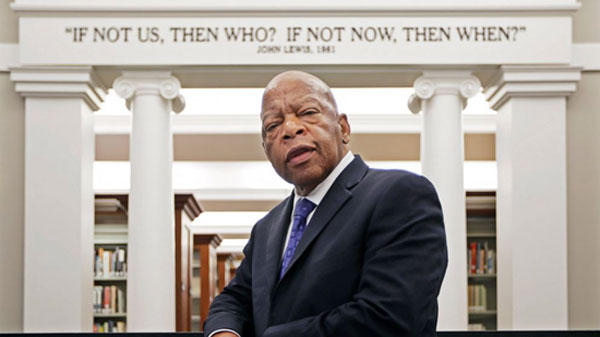 Civil rights icon Rep. John Lewis. File image