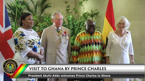 Video: Prince Charles visits Jubilee House